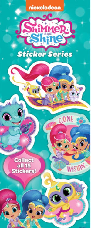 Shimmer & Shine Stickers in Folders (300 pcs) - Display Included