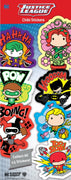 DC Comics Chibi Stickers in Folders (300 pcs) - Display Included - Wholesale Vending Products