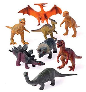 "12 - Medium 2.5"" Dinosaur Figures - Wholesale Vending Products"