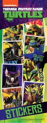 300 Teenage Mutant Ninja Turtles Stickers In Folders - Free Display!