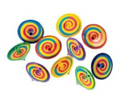 144 Spinning Tops - Wholesale Vending Products