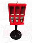 Triple Section Vending Machine - Minimum 5 - Ships Free - Wholesale Vending Products