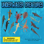 "250 Underwater Creatures - 2"" - Wholesale Vending Products"