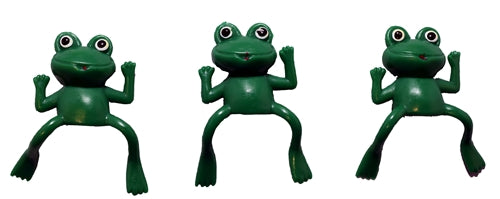 72 Vinyl Frog Finger Puppets - Wholesale Vending Products