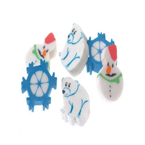 144 Winter Erasers - Wholesale Vending Products