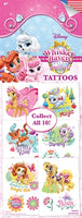 300 Whisker Haven Tattoos In Folders - FREE DISPLAY! - Wholesale Vending Products