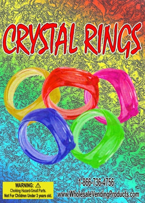 250 Crystal Rings - 1