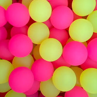 40 - 49mm Pink/Yellow Icy Balls - Wholesale Vending Products