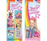 300 JoJo Siwa Stickers In Folders- Display Included - Wholesale Vending Products