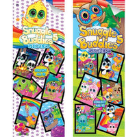 300 Snuggle Buddies 5 Stickers - Display Included - Wholesale Vending Products