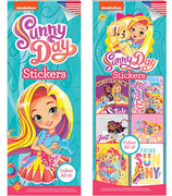 300 Sunny Day Stickers - Display Included - Wholesale Vending Products