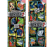 300 Wild World 2 Stickers In Folders- Display Included - Wholesale Vending Products