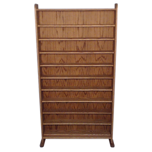 dark finish model 1002-3 CD storage cabinet