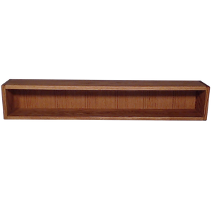 "Model 108-3 Collectible Display Shelf - (1) 5"" Shelf - 8"" Opening - 39"" Wide"
