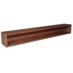 "Model 103-4 Collectible Display Shelf - (1) 6"" Shelf - 6"" Opening - 52"" Wide"
