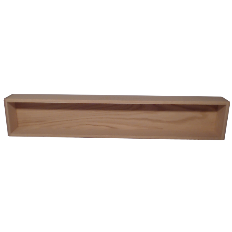 "Model 10810-4 Collectible Display Shelf - (1) 5"" Shelf - 10"" Opening - 52"" Wide"