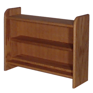 "Model 202 Collectible Display Shelf - (2) 7"" Shelves - 6"" Openings - 24"" Wide"
