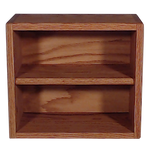 "Model 208-1 Collectible Display Shelf - (2) 5"" Shelves - 8"" Openings - 14"" Wide"