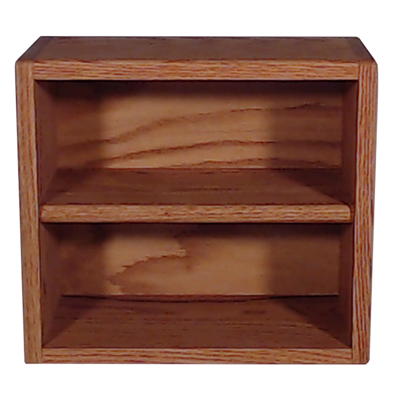 "Model 2086-1 Collectible Display Shelf - (2) 5"" Shelves - 6"" Openings - 14"" Wide"