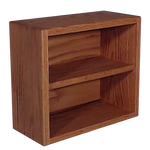 Model 203-1 CD Storage storage cabinet - honey oak finish