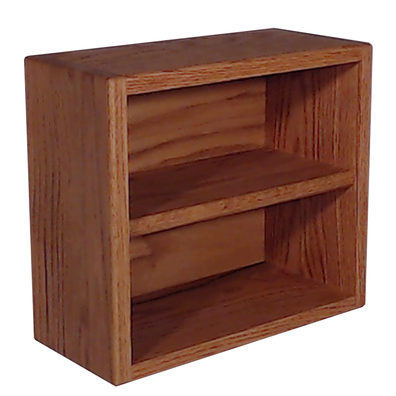 "Model 20810-1 Collectible Display Shelf - (2) 5"" Shelves - 10"" Openings - 14"" Wide"