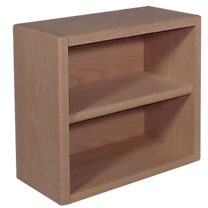 "Model 203-1 Collectible Display Shelf - (2) 6"" Shelves - 6"" Openings - 14"" Wide"