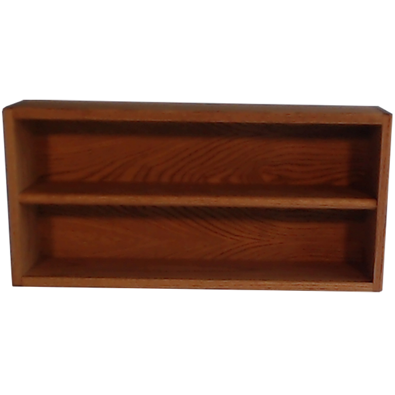 "Model 203-2 Collectible Display Shelf- (2) 6"" Shelves - 6"" Openings - 26"" Wide"