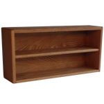 Model 203-2 CD Storage Rack - honey oak