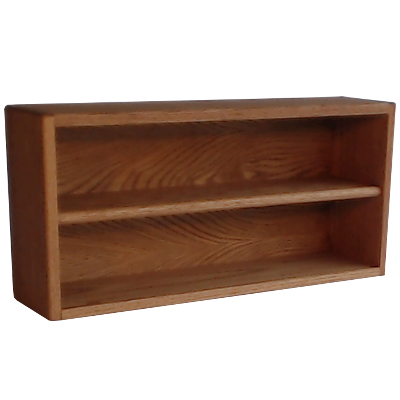 "Model 2086-2 Collectible Display Shelf - (2) 5"" Shelves - 6"" Openings - 26"" Wide"