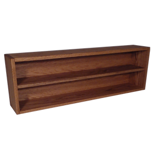 "Model 203-3 Collectible Display Shelf- (2) 6"" Shelves - 6"" Openings - 39"" Wide"