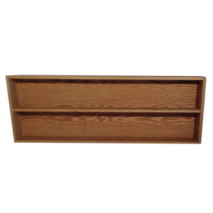"Model 2086-4 Collectible Display Shelf  - (2) 5"" Shelves - 6"" Openings - 52"" Wide"