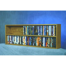 Load image into Gallery viewer, Model 210-4W VHS & DVD Storage Rack