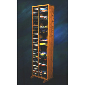 11 Series CD/DVD Combination Cabinets - 2 columns/shelves - 4 sizes