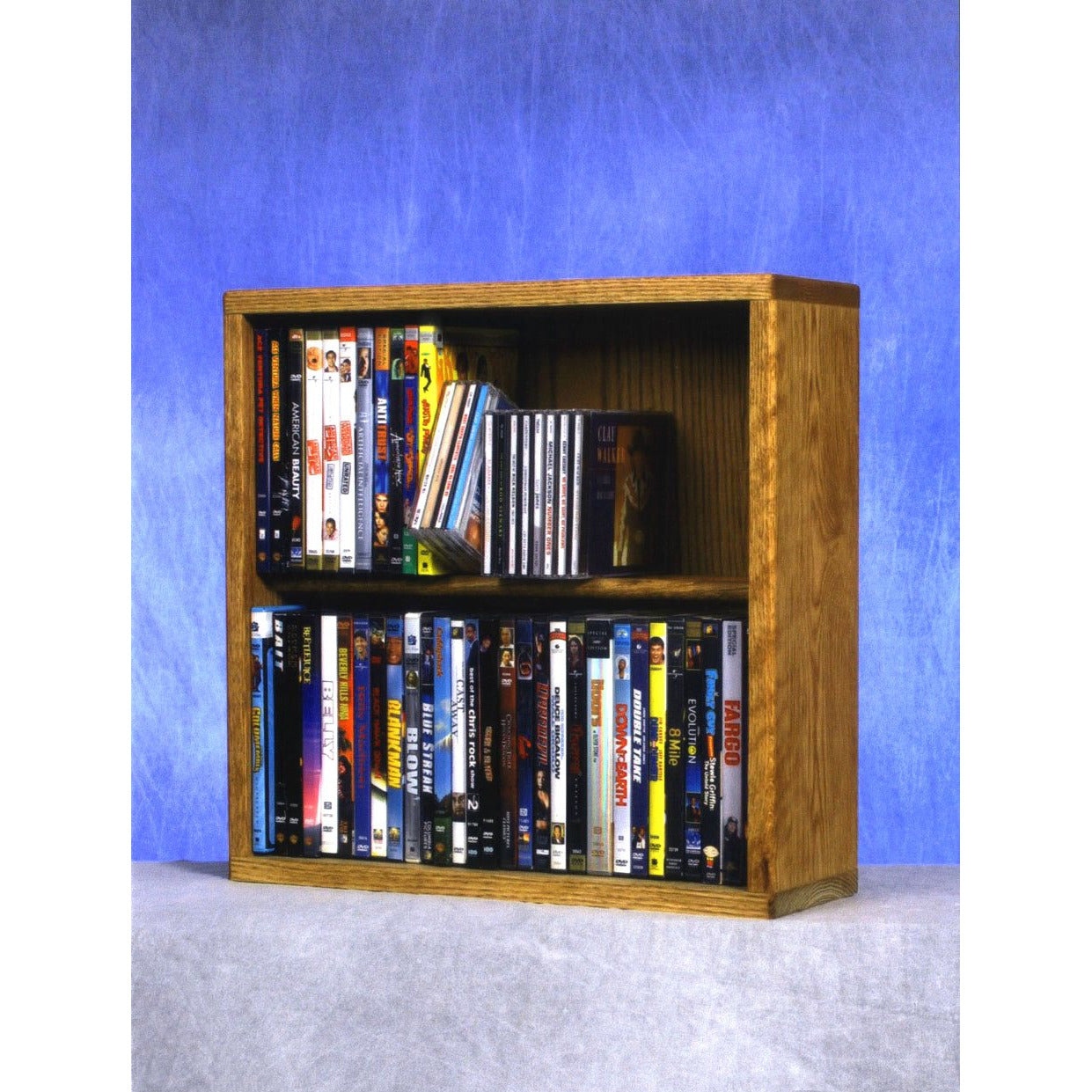 Model 215-18 CD/DVD/VHS Combination Rack