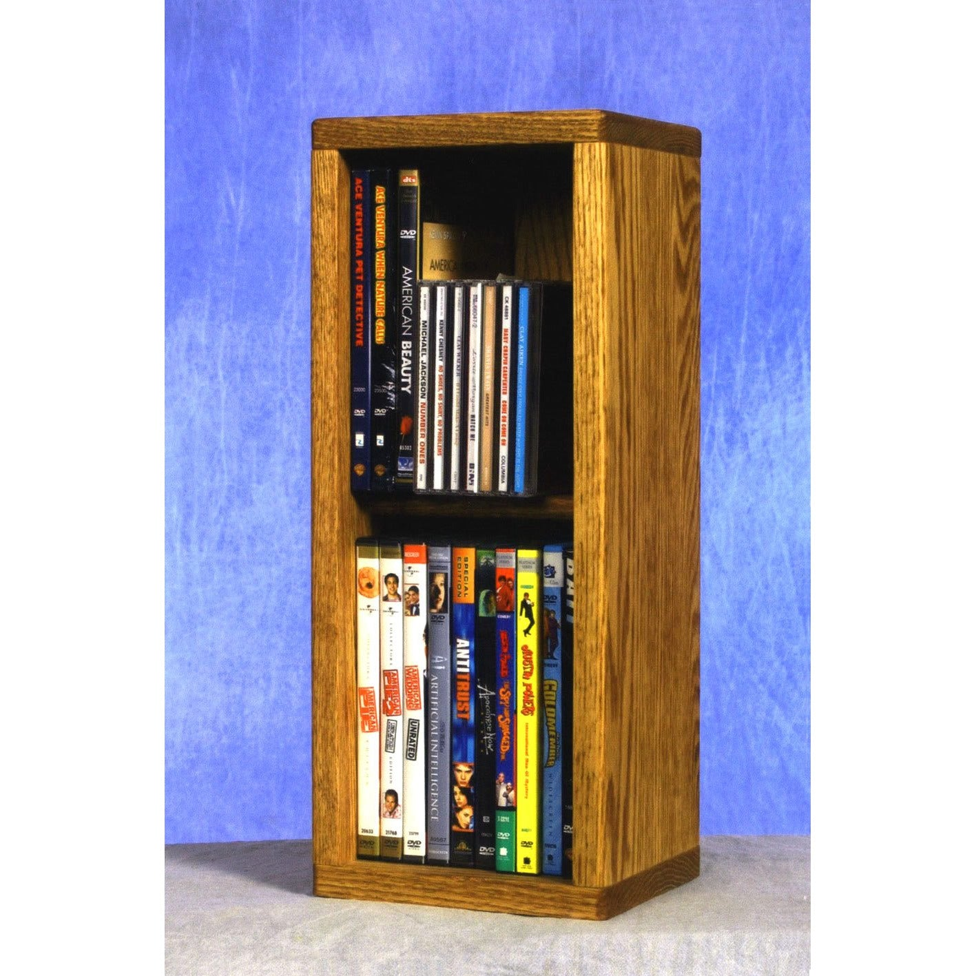 15 Series CD/DVD/VHS Combination Cabinets - dowel shelves - 12 sizes