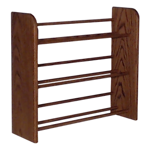 Small CD rack Model 301 CD Storage Rack - dark