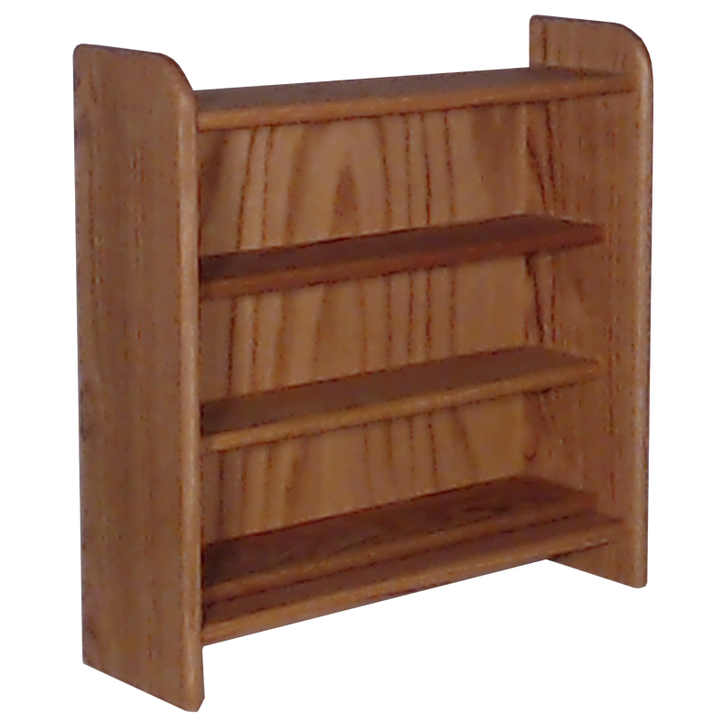 "Model 302 Collectible Display Shelf - (3) 5"" Shelves - 5"" Openings - 24"" Wide"