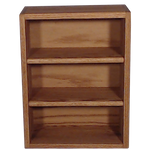 "Model 3086-1 Collectible Display Shelf - (3) 5"" Shelves - 6"" Openings - 14"" Wide"