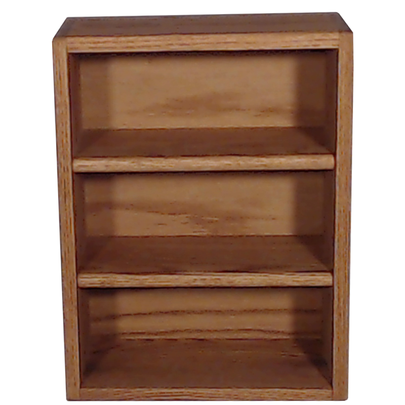 "Model 303-1 Collectible Display Shelf - (3) 6"" Shelves - 5"" Openings - 14"" Wide"