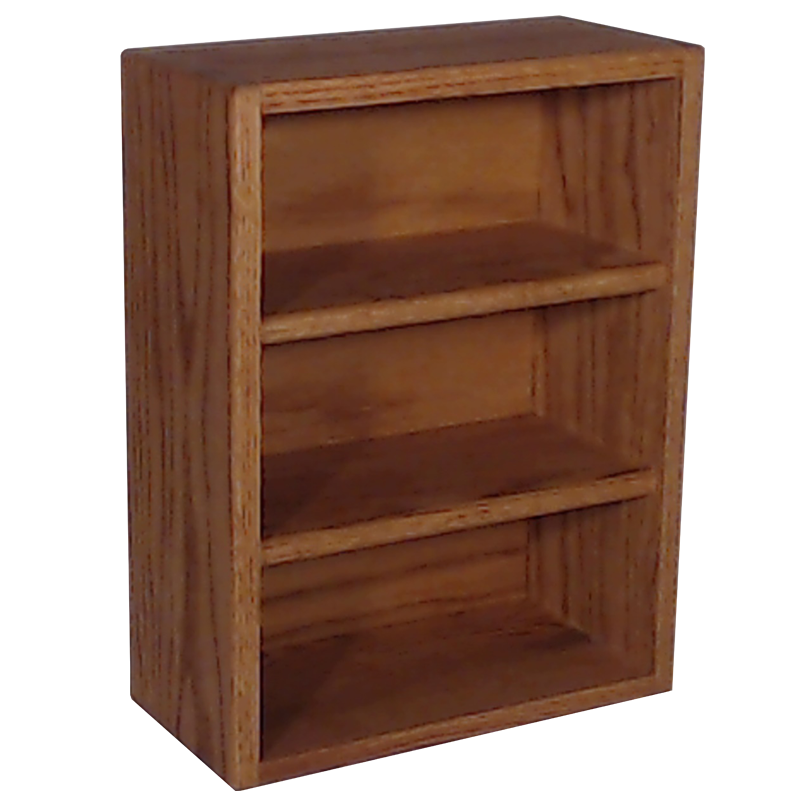 Model 303-1 CD Storage cabinet -honey oak