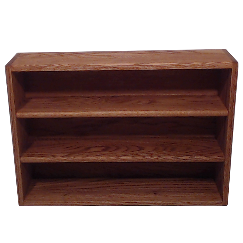 "Model 3086-2 Collectible Display Rack - (3) 5"" Shelves - 6"" Openings - 26"" Wide"