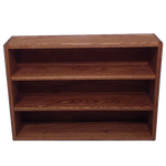 "Model 308-2 Collectible Display Rack - (3) 5"" Shelves - 8"" Openings - 26"" Wide"