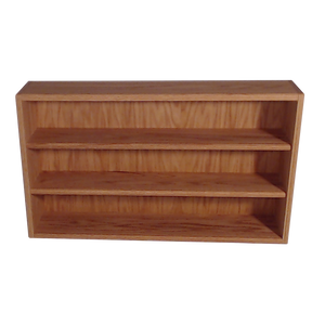 "Model 30810-2 Collectible Display Shelf - (3) 5"" Shelves - 10"" Openings - 26"" Wide"