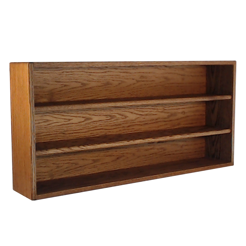"Model 303-3 Collectible Display Shelf - (3) 6"" Shelves - 5"" Openings - 39"" Wide"