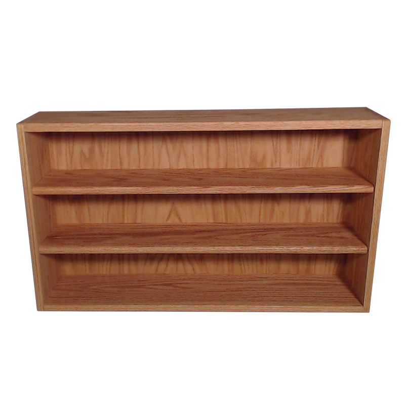 "Model 308-3 Collectible Display Shelf - (3) 5"" Shelves - 8"" Openings - 39"" Wide"