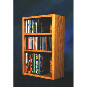 12 Series CD/DVD Combination Cabinets - 3 shelves/columns - 4 sizes