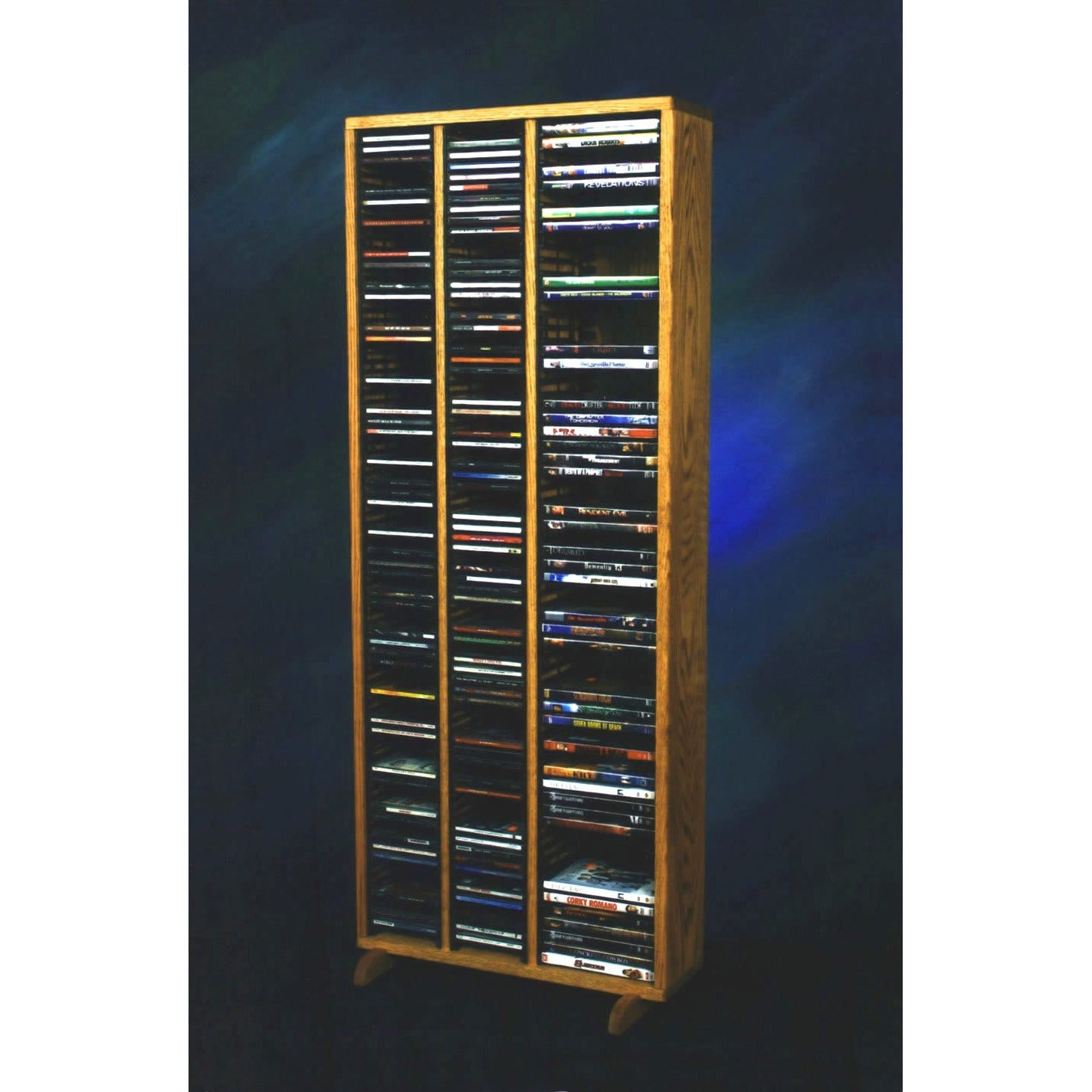 12 Series CD/Blu-ray Combination Cabinets - 3 shelves/columns - 4 sizes