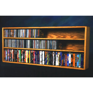 Model 312-4W CD/DVD/VHS Combination Rack