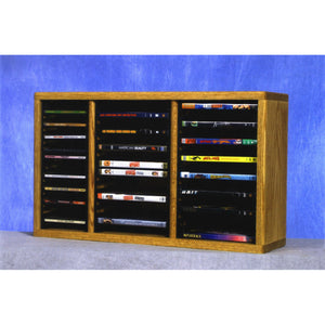 13 Series CD/DVD Combination Cabinets, 3 columns/shelves