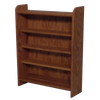 "Model 402 Collectible Display Shelf - (4) 5"" Shelves* - 5"" Openings - 24"" Wide"